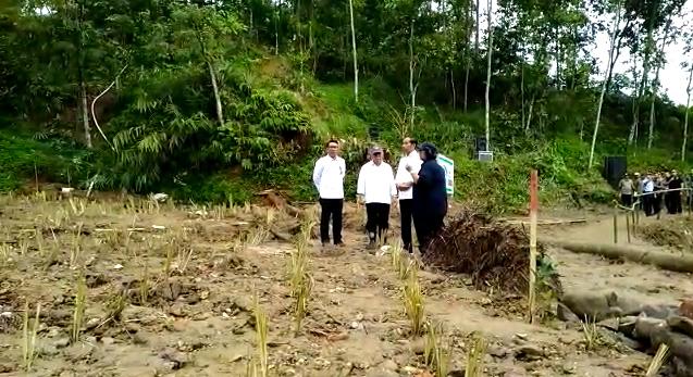 Jokowi mencegah longsor